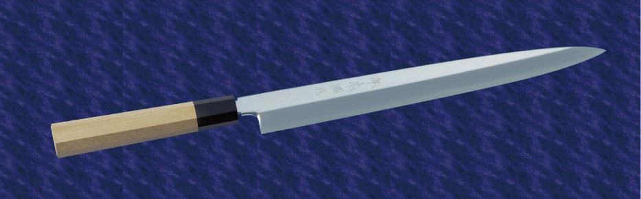 画像1: 柳刃(銀三鋼) 300mm