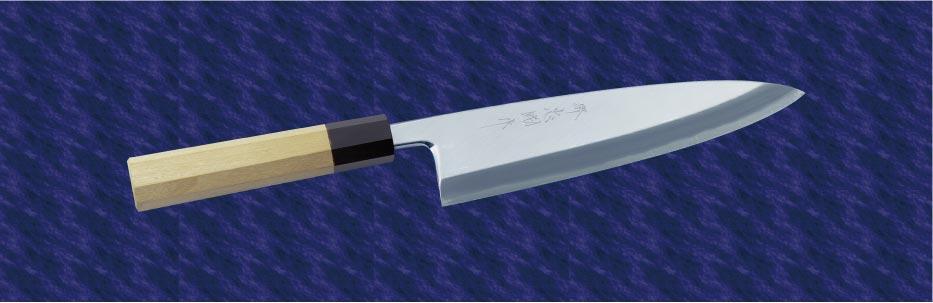 画像1: 相出刃(銀三鋼) 225mm