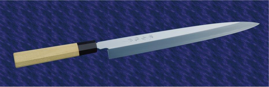 画像1: 柳刃(青鋼) 240mm
