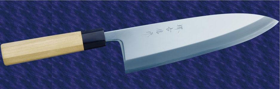 画像1: 本出刃(白鋼) 270mm