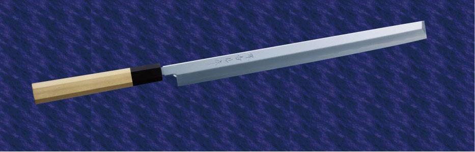 画像1: 蛸引(白鋼) 270mm